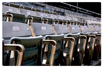 Photograph - Stadium Seating by Davina Washington