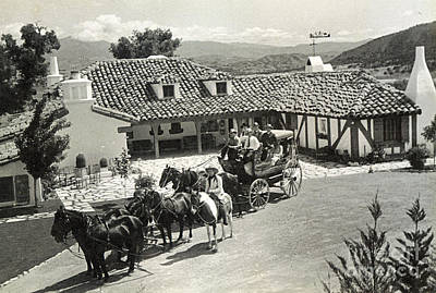 Photograph - Stagecoach 1935 by Patricia  Tierney