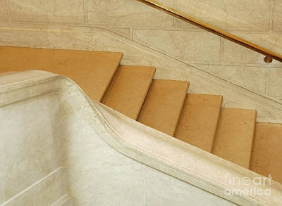 Photograph - Stairs 5 by Kathleen Gauthier