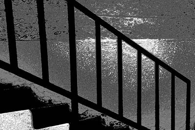 Stairs Print by Lenore Senior