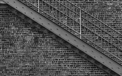 Photograph - Stairs by Roger Passman