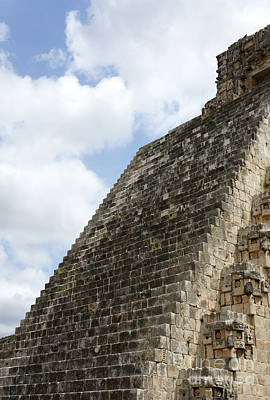 Photograph - Stairway To Heaven Uxmal Mexico by John  Mitchell