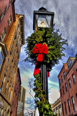 Gas Lamp Photograph - Standing Tall by Joann Vitali