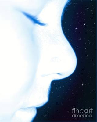 Digitally Manipulated Photograph - Star Child, Conceptual Image by Richard Kail
