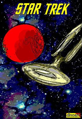 Star Trek Special Edition Art Print