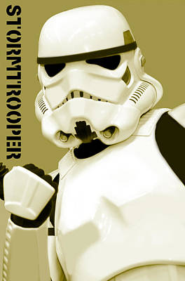 Star Wars Stormtrooper Art Print