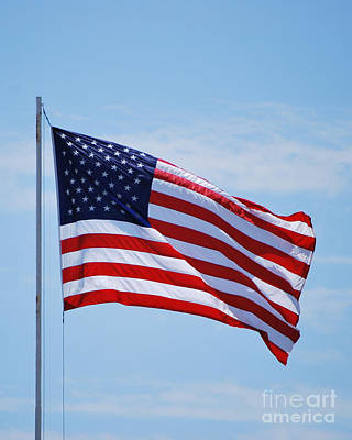 Photograph - American Flag  by Bob Sample