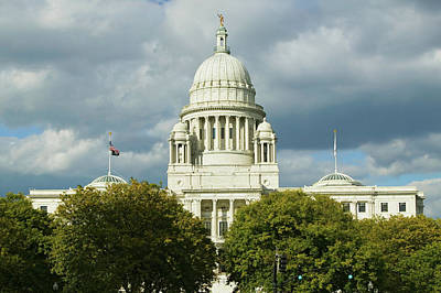 State Capital Building Of Providence Art Print
