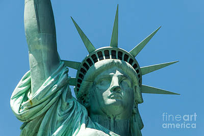 Photograph - Statue Of Liberty by Anthony Sacco