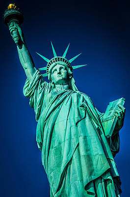 Photograph - Statue Of Liberty by Chris McKenna