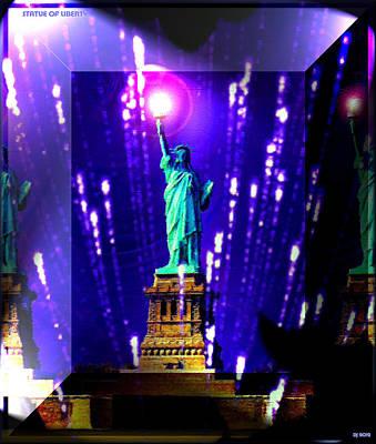 Statue Of Liberty Original by Daniel Janda