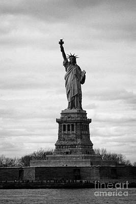 Statue Of Liberty Liberty Island New York City Usa Art Print by Joe Fox