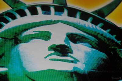 Statue Of Liberty  Art Print by Rob Hans