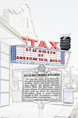 Digital Art - Stax by Liz Leyden