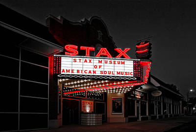 Stax Museum Of American Soul Music Print by Mountain Dreams