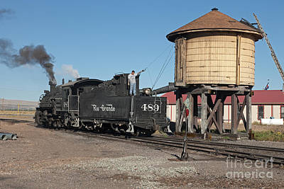 Photograph - Steam Engine 489 On The Cumbres And Toltec Scenic Railroad by Fred Stearns