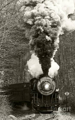 Photograph - Steam Engine 734  by Jeannette Hunt