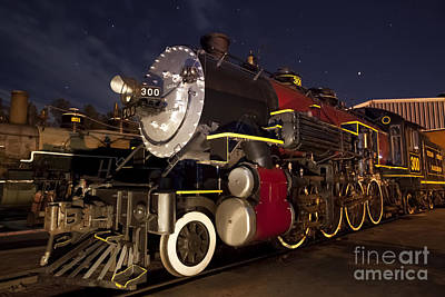 Depot Photograph - Steam Locomotive by Keith Kapple