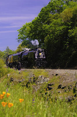 Photograph - Steam Train by Sherri Meyer
