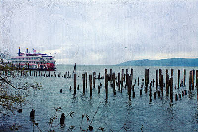 Steamboat Photograph - Steamboat In Astoria by Bonnie Bruno