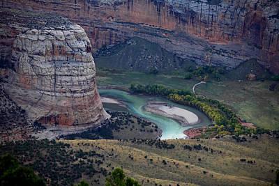 Photograph - Steamboat Rock by Darryl Wilkinson