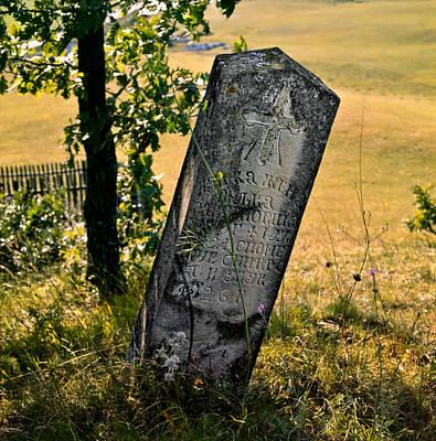 Photograph - Stecci. Medieval Tombstones. Serbia by Juan Carlos Ferro Duque