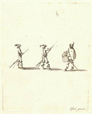 Tr Drawing - Stefano Della Bella Italian by Litz Collection