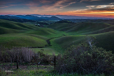 California Coast Photograph - Steinbeck Country  by Bill Roberts