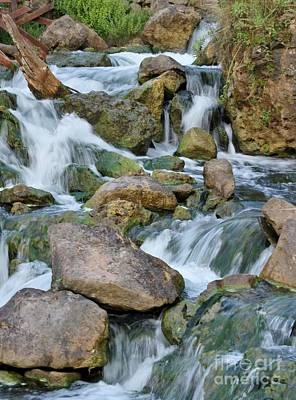 Photograph - Step Down Falls by Butch Phillips