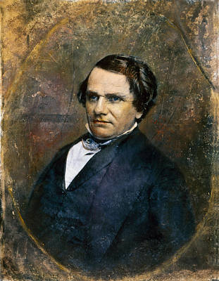Photograph - Stephen A. Douglas by Granger