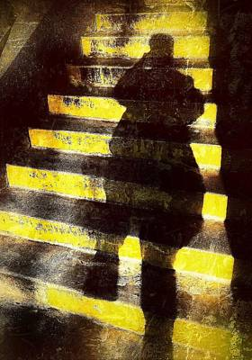 Photograph - Steps by Mark Block
