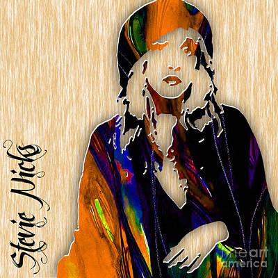 Stevie Nicks Mixed Media - Stevie Nicks by Marvin Blaine