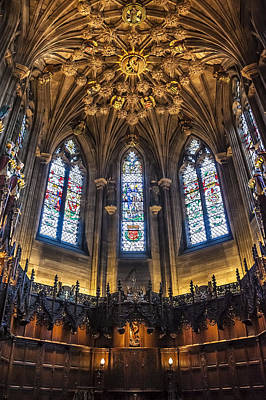 St.giles Cathedral Art Print by Svetlana Sewell