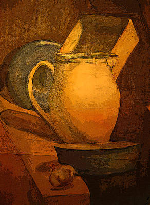 Still Life Print by Jolanta Erlate
