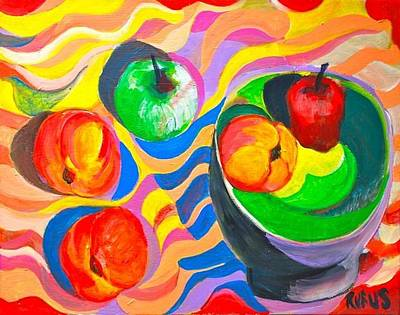 Colorful Painting - Still Life by Rufus Norman