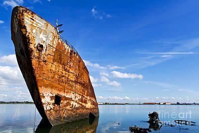 Trawler Photograph - Still Proud by Jose Elias - Sofia Pereira