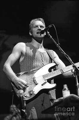 Sting Art Print by Concert Photos