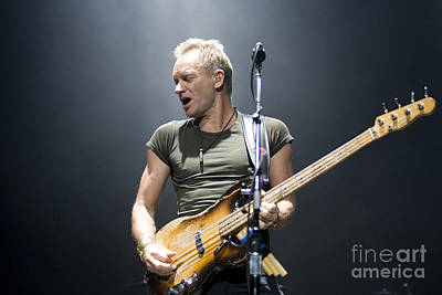 Classical Masterpiece Still Life Paintings - Sting of The Police  by Jason O Watson