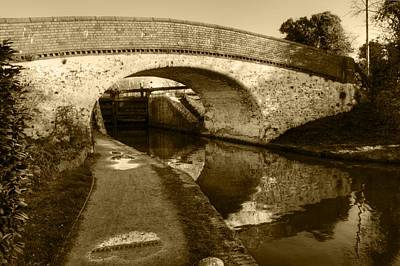 Photograph - Stockers Lock by Chris Day
