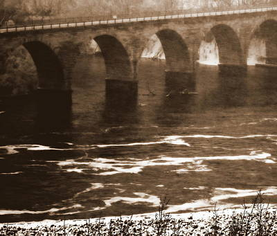 Photograph - Stone Arch Bridge by A K Dayton