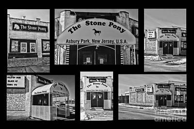 Stone Pony Tribute Art Print by Paul Ward