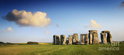 Megalith Photograph - Stonehenge Summer Evening by Colin and Linda McKie