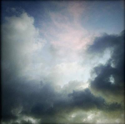 Storm Clouds Art Print by Les Cunliffe