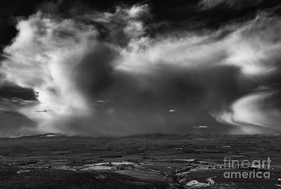 Photograph - Storm Over The Kittitas Valley by Mike  Dawson