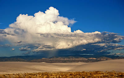 Photograph - Storm Over White Sands by Sandra Selle Rodriguez