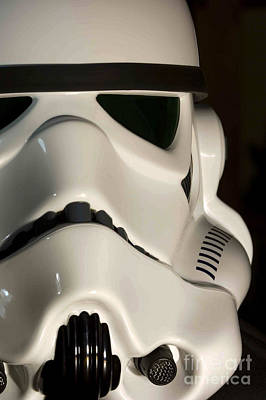 Movie Prop Photograph - Stormtrooper Helmet by Micah May