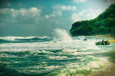 Photograph - Stormy Sea by Silvia Ganora