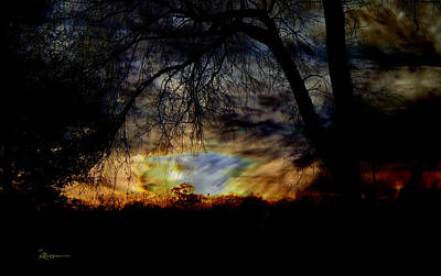 Manipulation Photograph - Stormy Weather by EricaMaxine  Price