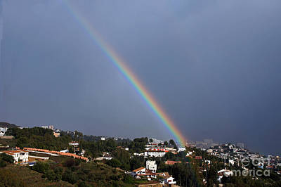 Photograph - Straight Rainbow by Rod Jones