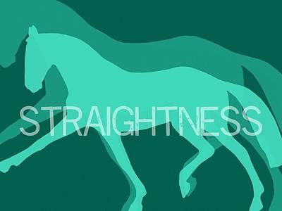 Photograph - Straightness Negative by JAMART Photography